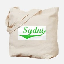 Sydni Vintage (Green) Tote Bag