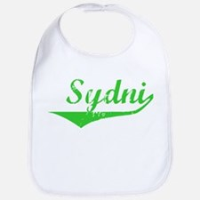 Sydni Vintage (Green) Bib