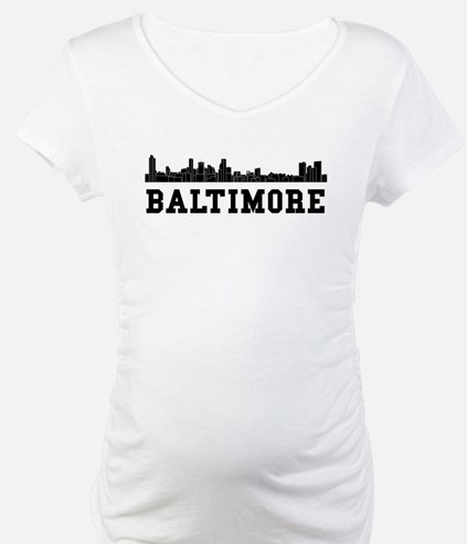 Baltimore MD Skyline Shirt