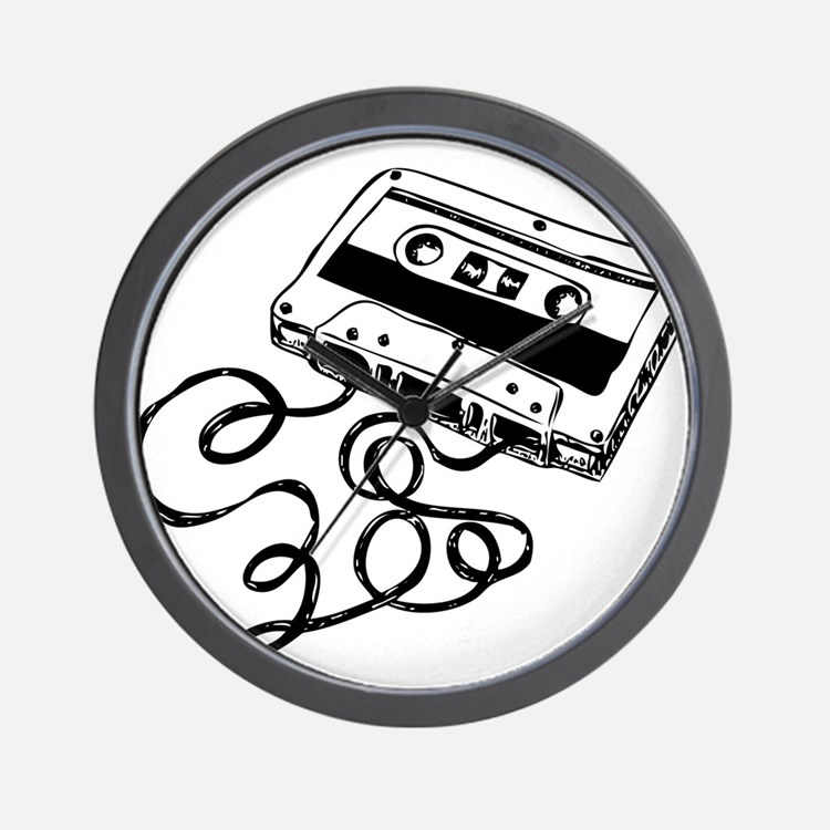 Mixtape Symbol Wall Clock