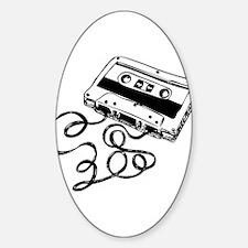 Mixtape Symbol Oval Decal
