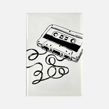 Mixtape Symbol Rectangle Magnet
