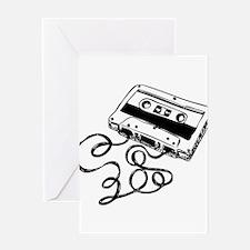 Mixtape Symbol Greeting Card