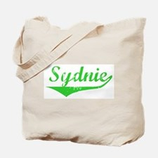 Sydnie Vintage (Green) Tote Bag
