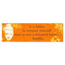 It is better to conquer... Bumper Bumper Sticker