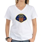 Cache Creek Police Women's V-Neck T-Shirt