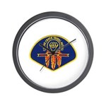 Cache Creek Police Wall Clock