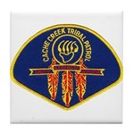Cache Creek Police Tile Coaster