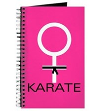 Karate Black Belt Female Journal