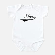 Thea Vintage (Black) Infant Bodysuit