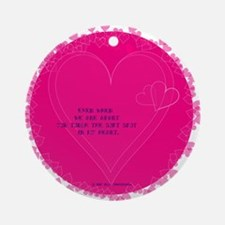 In My Heart Ornament (Round)