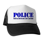 Hook'em Police Trucker Hat
