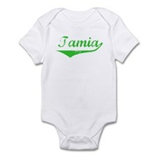 Tamia Vintage (Green) Infant Bodysuit