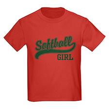 Softball Girl T