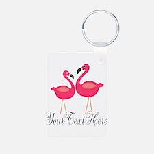 Pink Flamingos Keychains