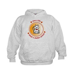 adopt a shelter animal Hoodie