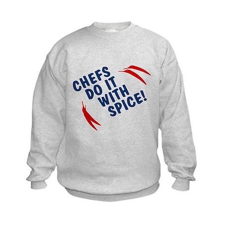 Chefs Do It With Spice Kids Sweatshirt