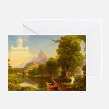 The Voyage of Life - Youth by Thomas Cole Greeting