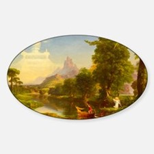 The Voyage of Life - Youth by Thomas Cole Decal