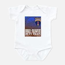 The Berlin to Frankfurt Duty Infant Bodysuit