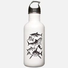 Cute Tiger shark Water Bottle