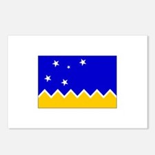 Magallanes Chile Flag Postcards (Package of 8)
