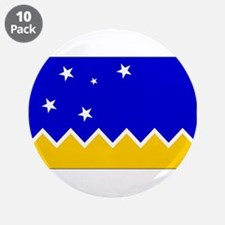 """Magallanes Chile Flag 3.5"""" Button (10 pack)"""