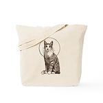 Vintage Cat Art I Tote Bag