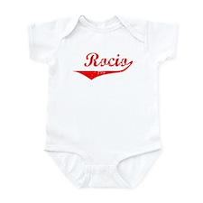 Rocio Vintage (Red) Infant Bodysuit