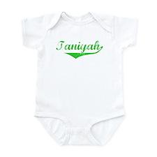 Taniyah Vintage (Green) Infant Bodysuit