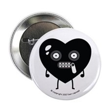 """Lil' Gimp"" Bedroom Heart 2.25"" Button"