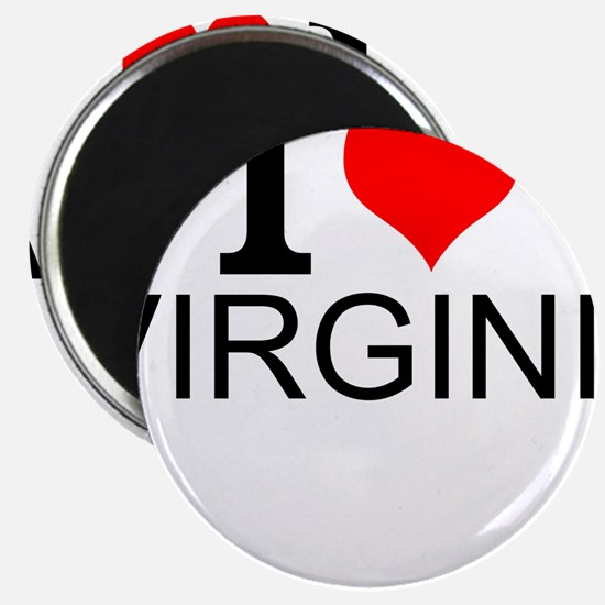 I Love Virginia Magnets