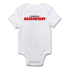 Uber Accountant Infant Bodysuit