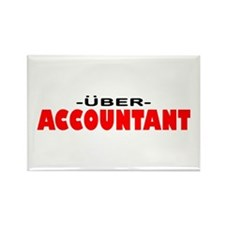 Uber Accountant Rectangle Magnet