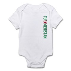 Turkmenistan Stamp Infant Bodysuit