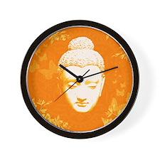 Peaceful Buddha Wall Clock