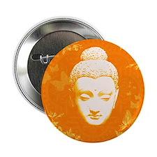 """Peaceful Buddha 2.25"""" Button"""