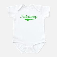 Tatyana Vintage (Green) Infant Bodysuit