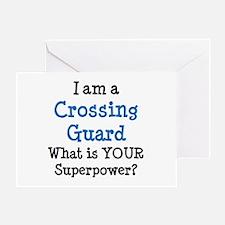 crossing guard Greeting Card