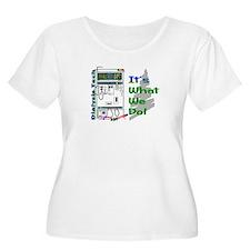 Dialysis Tech Plus Size T-Shirt