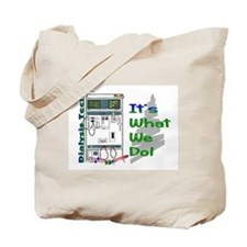 Cool Dialysis tech Tote Bag