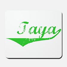 Taya Vintage (Green) Mousepad