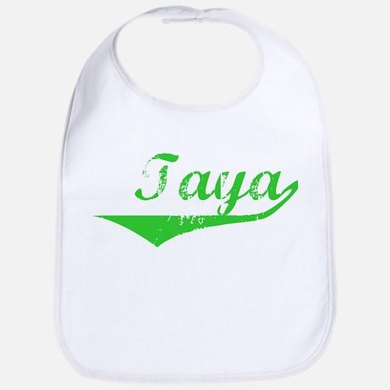 Taya Vintage (Green) Bib