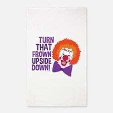 Frown Updide Down Area Rug