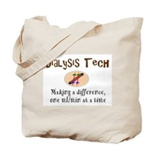 Unique Dialysis tech Tote Bag