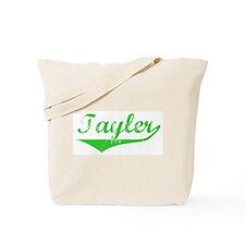 Tayler Vintage (Green) Tote Bag