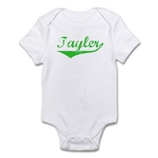 Tayler Vintage (Green) Infant Bodysuit