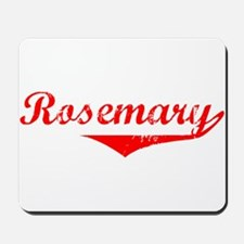 Rosemary Vintage (Red) Mousepad