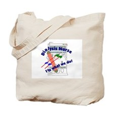 Cute Dialysis nurse Tote Bag