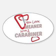 Meaner Carabiner Decal